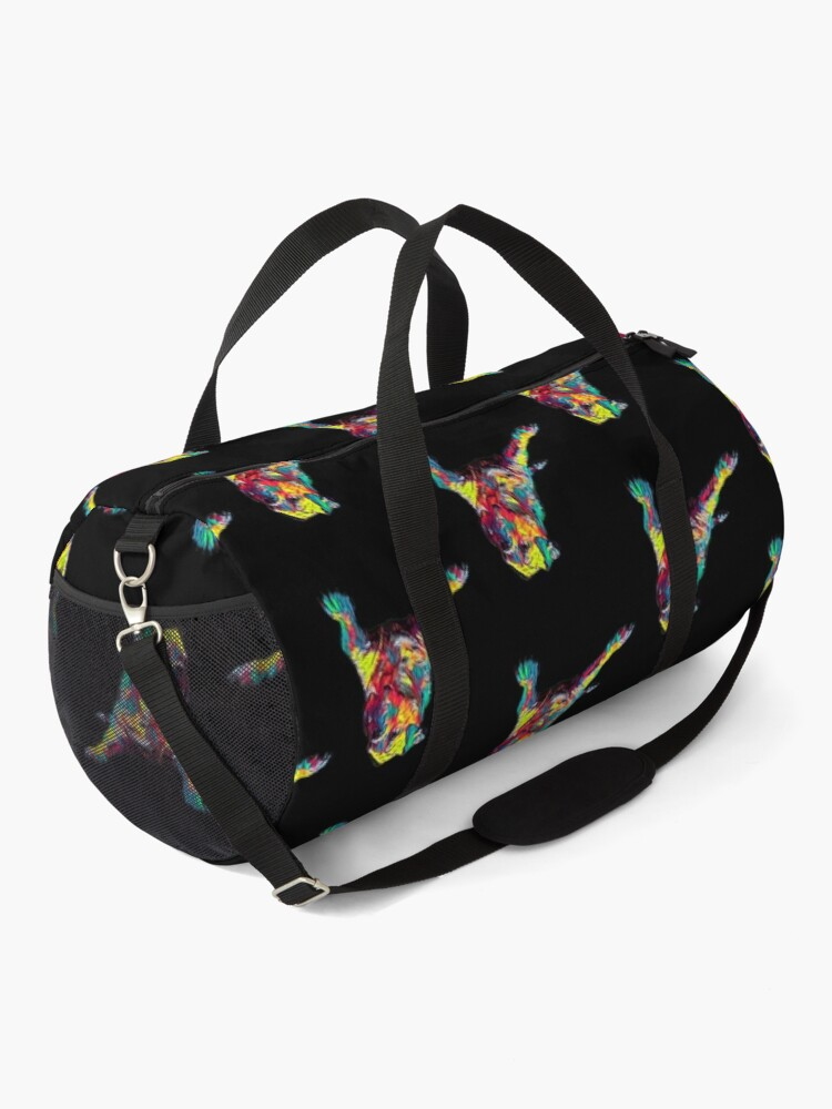 Alternate view of American Bulldog Dog Funny Gift Lover Duffle Bag