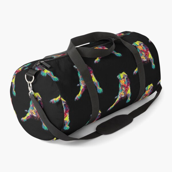 American Bulldog Dog Funny Gift Lover Duffle Bag