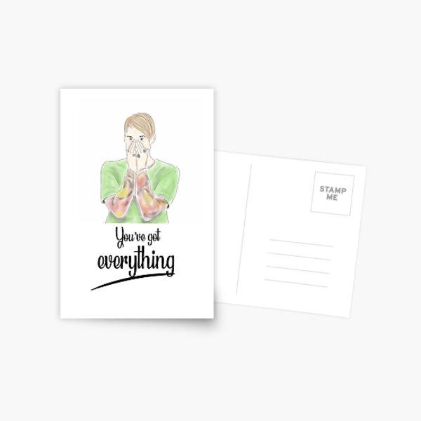 You've got everything - SNL Stefon  Postcard