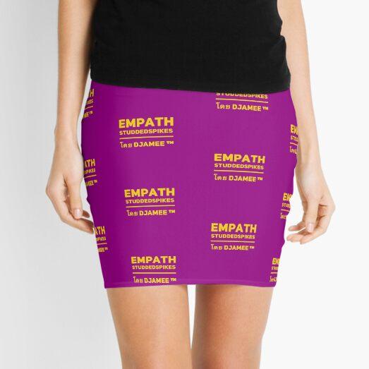 Empath Studdedspikes by Djamee Mini Skirt