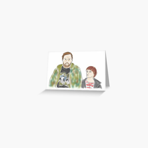 Uncle - Andy and Errol Greeting Card