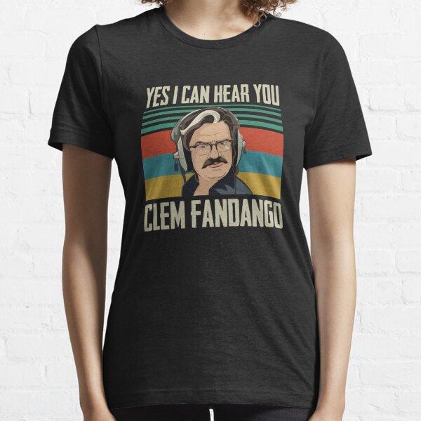 """TOAST OF LONDON, MATT BERRY """"I CAN HEAR YOU CLEM FANDANGO"""" Essential T-Shirt"""