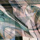Digital Sweep Abstract  by Linda J Armstrong