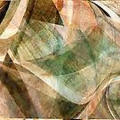 Swept Layers Abstract Digital Art by Linda J Armstrong