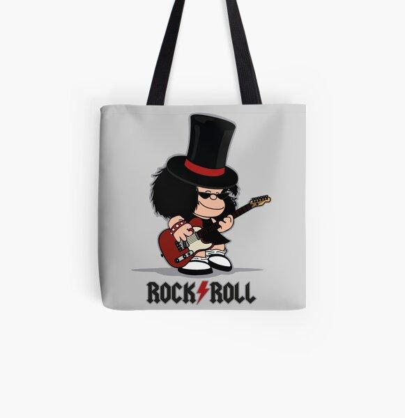 Mafalda Rockera Bolsa estampada de tela