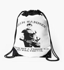 TEAM HAMMER Drawstring Bag
