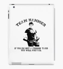 TEAM HAMMER iPad Case/Skin