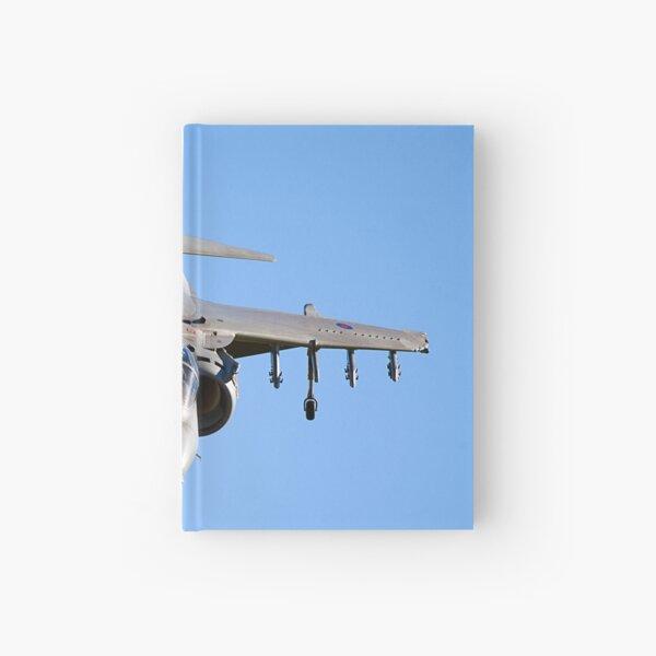Harrier Jump Jet Hardcover Journal