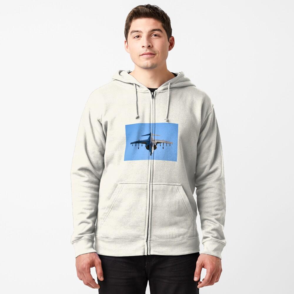 Harrier Jump Jet Zipped Hoodie