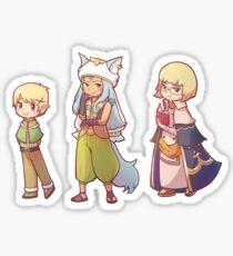 RF boys 2 Sticker