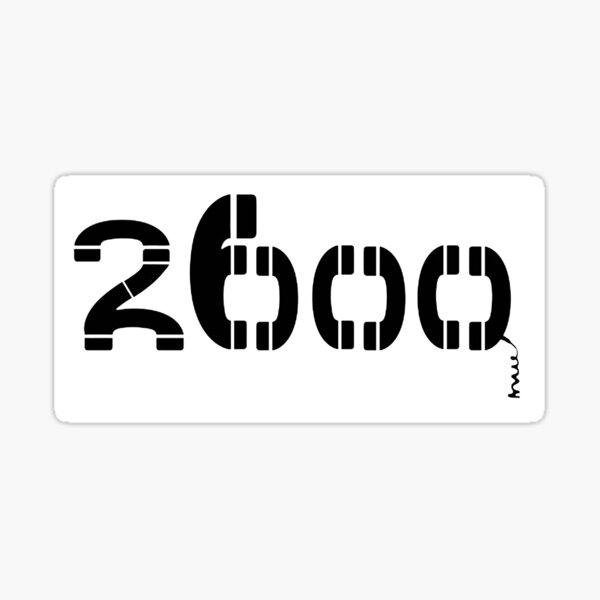 2600 Sticker