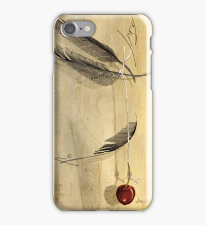 Hangs in the Balance, by Alma Lee iPhone Case/Skin