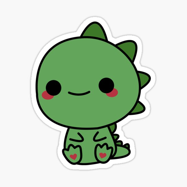 Baby Dino Stickers Redbubble