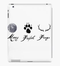 Moony, Padfoot and Prongs iPad Case/Skin