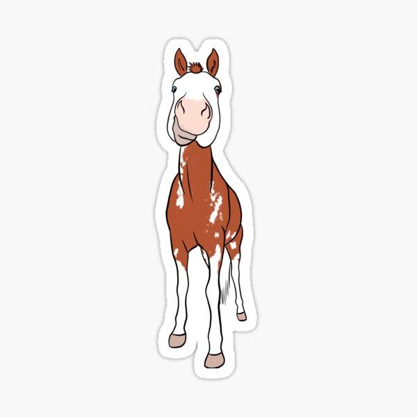 Cow - Paint Horse Sticker
