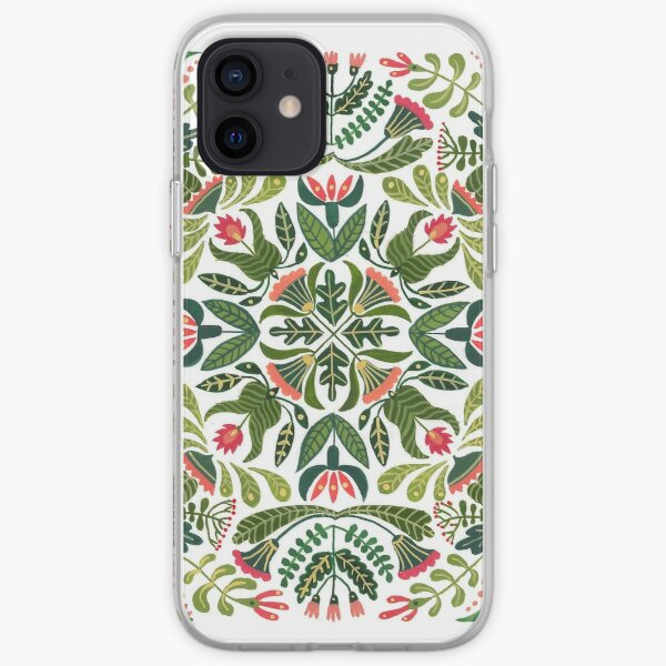 Little red riding hood - mandala pattern iPhone Soft Case