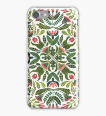 Little red riding hood - mandala pattern iPhone Case/Skin