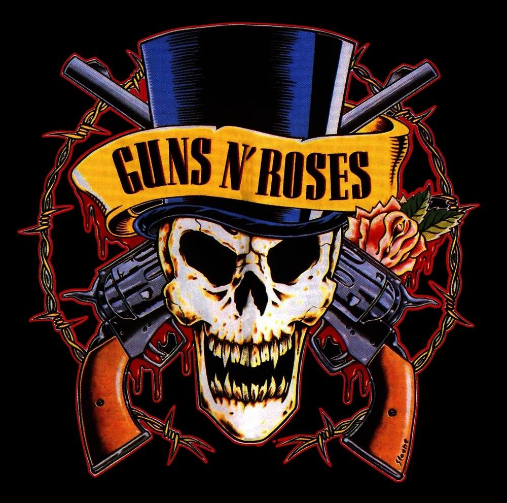 Gun n roses logo by umart12 redbubble gun n roses logo altavistaventures Gallery