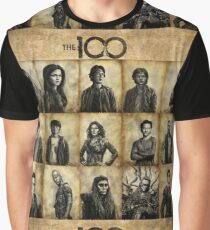 The 100 poster 1 Graphic T-Shirt