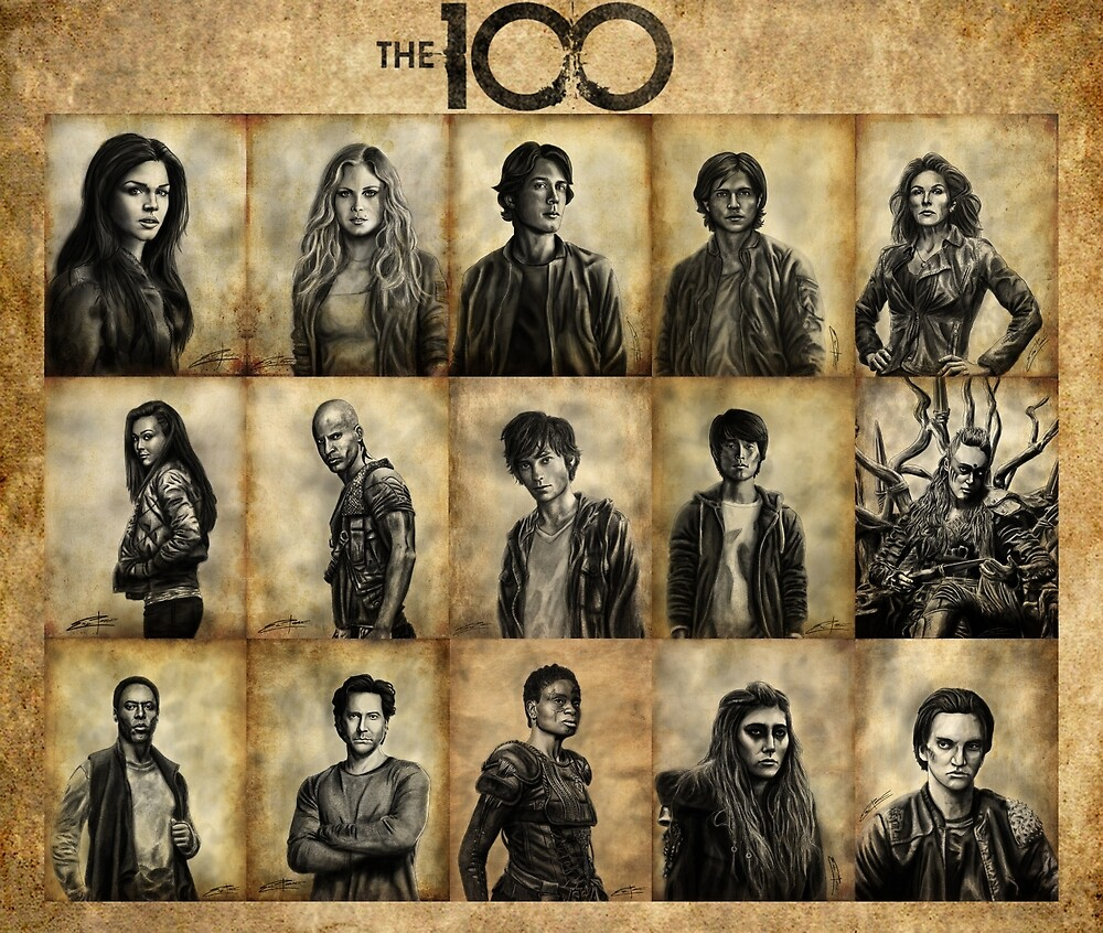The 100 poster 2 by Epopp300