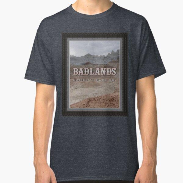Badlands Stamp Classic T-Shirt