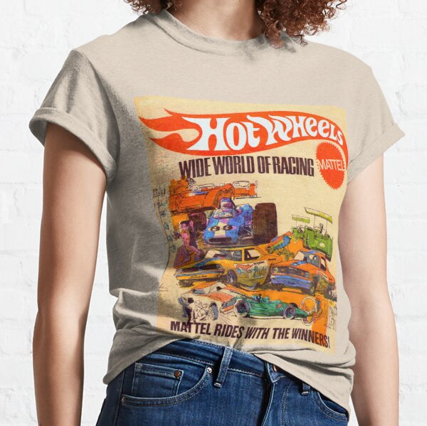 Hot Wheels Vintage Wide World of Racing Poster  Classic T-Shirt