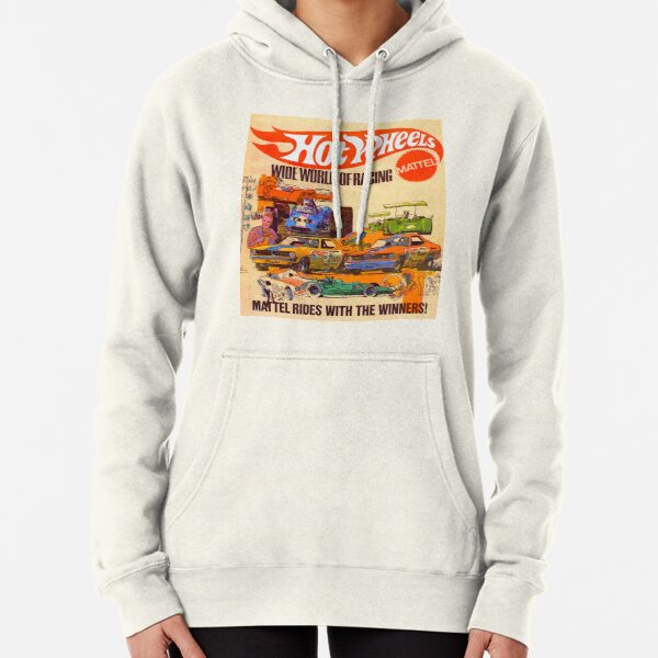 Póster Hot Wheels Vintage Wide World of Racing Sudadera con capucha