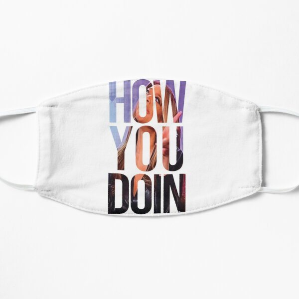 How you doin' - Wendy Williams - Watermark design by Tegalism Flat Mask
