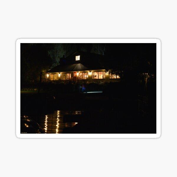 Lodge on Gunflint Lake Sticker