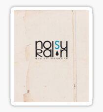 Noisy Rain Vintage Logo Sticker