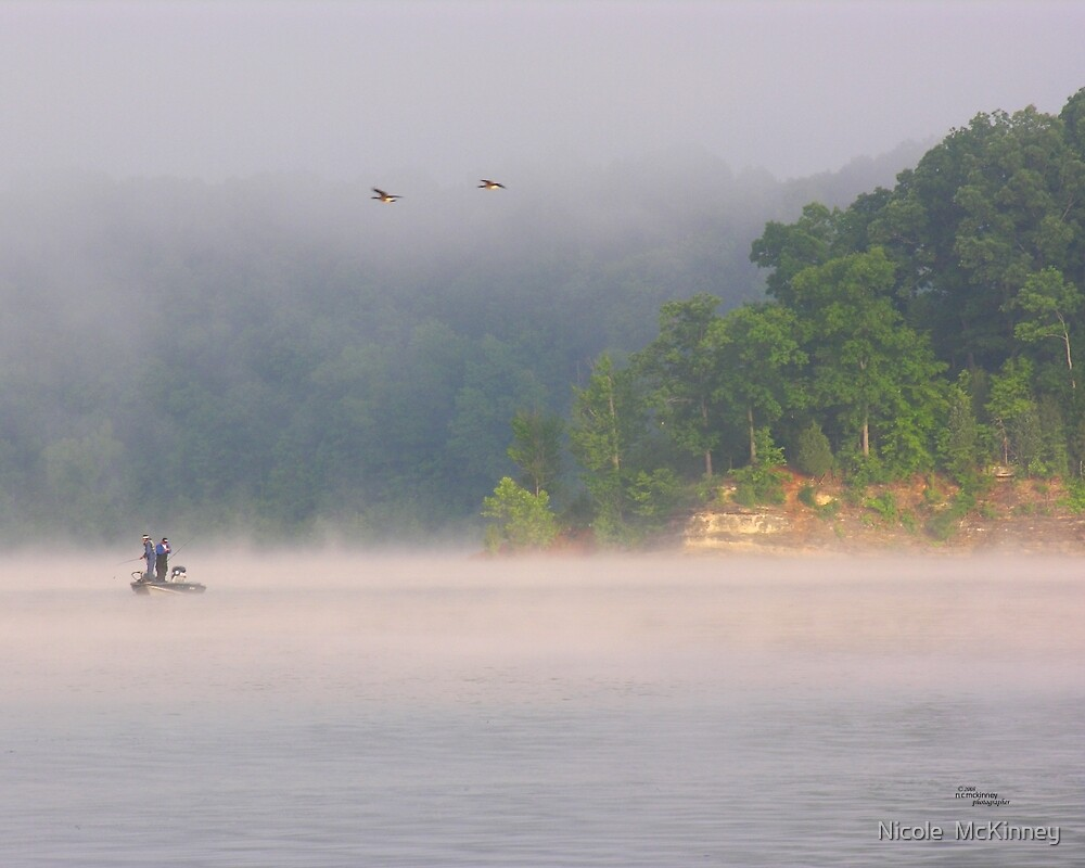 Fog Fishing by Nicole  McKinney