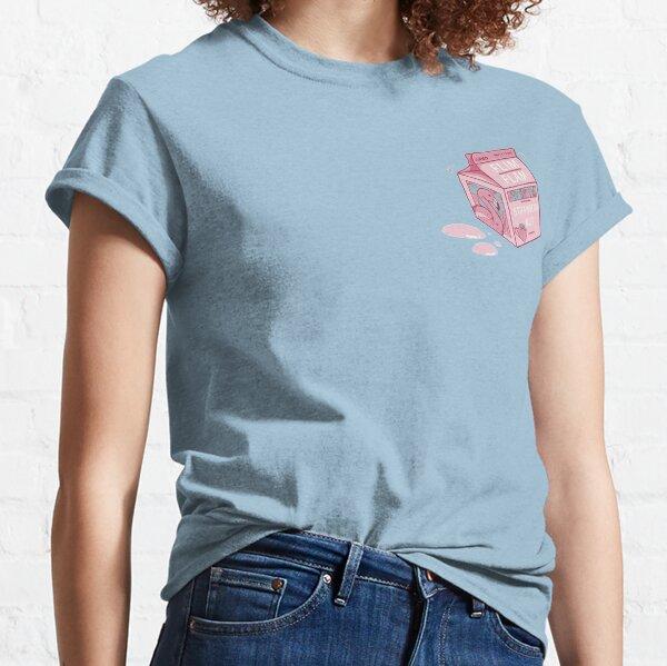 Cartón de leche de fresa Flim Flam Camiseta clásica