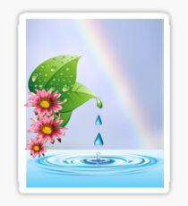 Water droplets (6432  Views) Sticker