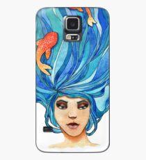 Funda/vinilo para Samsung Galaxy Mermaid Hair