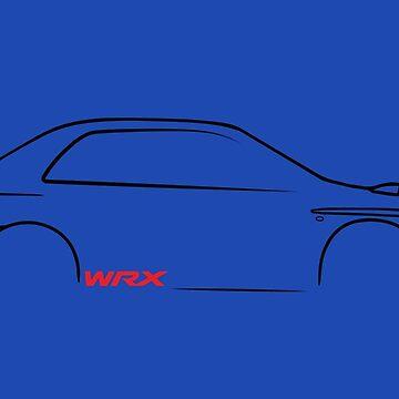 Subaru WRX Impreza Bugeye by upick