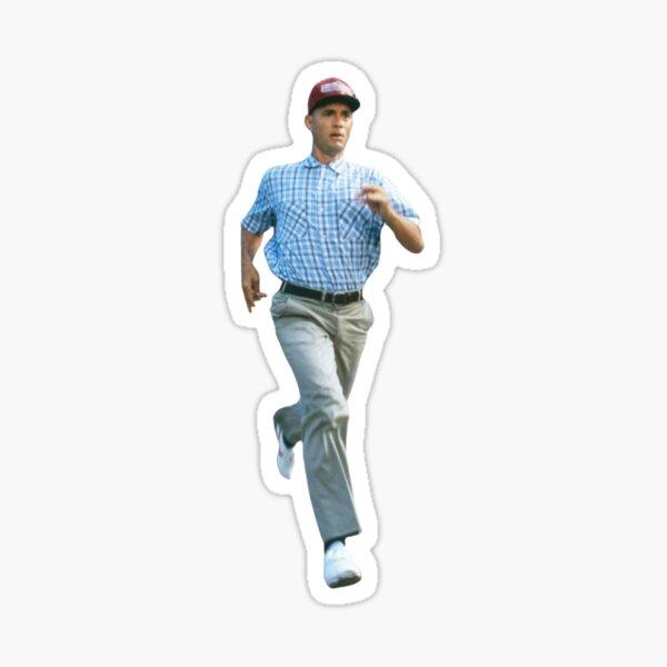 Forrest Gump Running Sticker