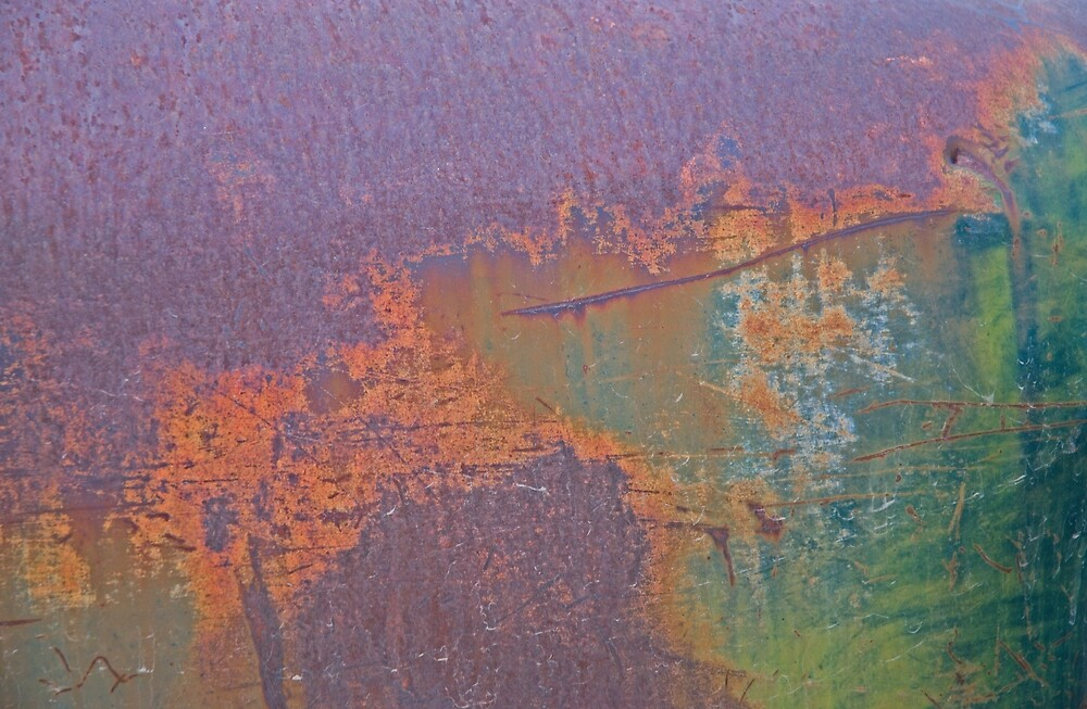 Rust and Paint by Linda J Armstrong