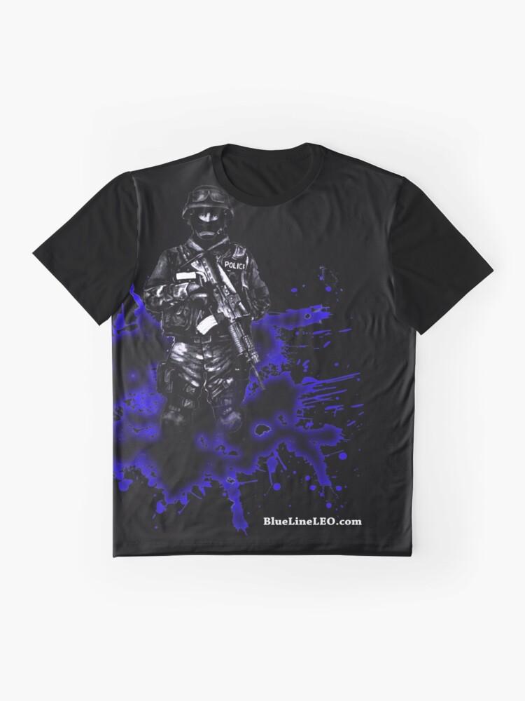 Alternate view of Swat Graphic T-Shirt