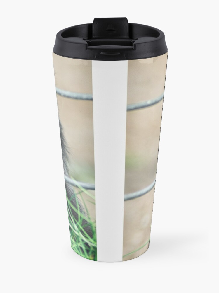 Alternate view of Caged thoughts... Travel Mug