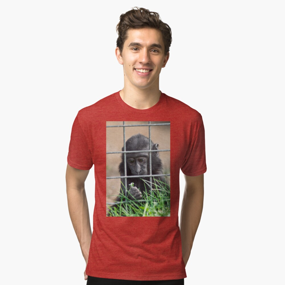 Caged thoughts... Tri-blend T-Shirt
