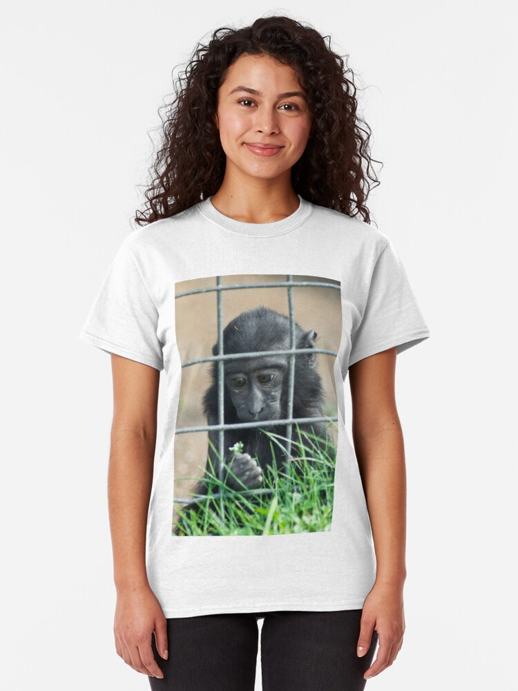 Alternate view of Caged thoughts... Classic T-Shirt