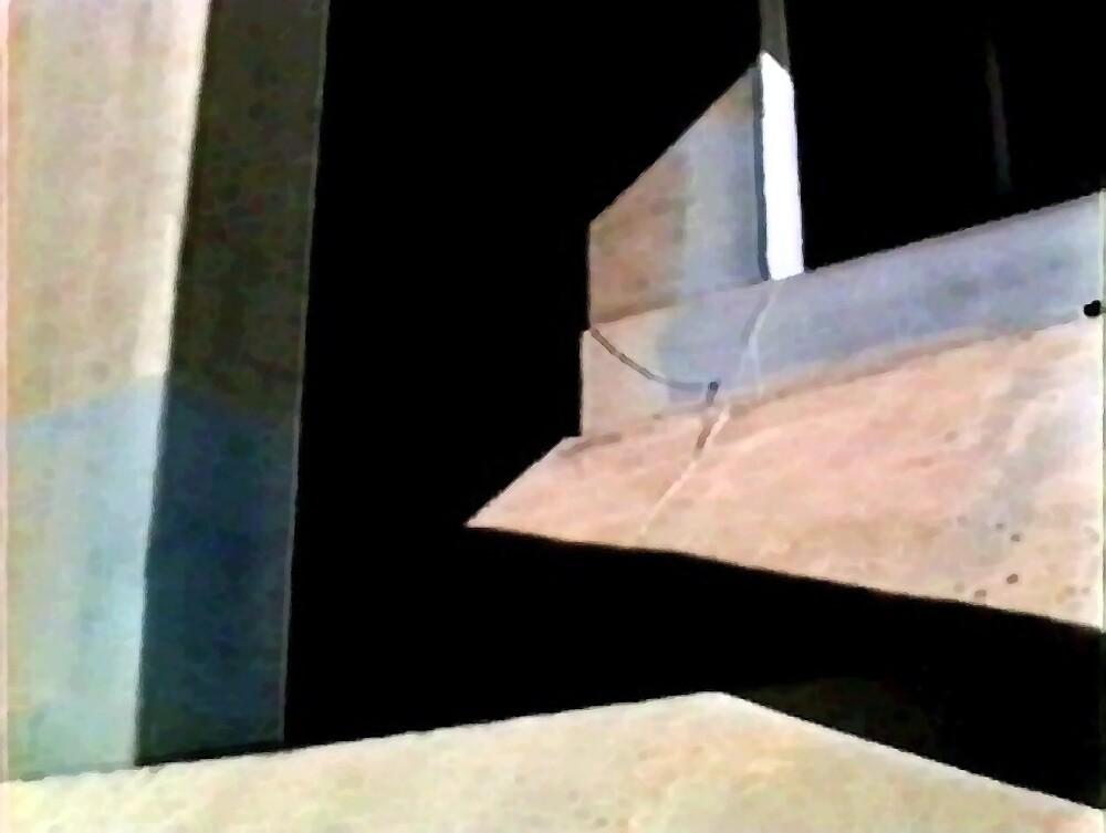 Bridge Abstract 1 by Linda J Armstrong