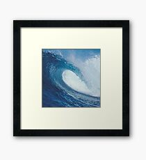 OCEAN WAVE 2 Framed Print