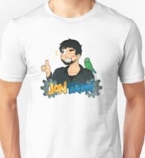 JonTron and his Trusty Sidekick! Unisex T-Shirt