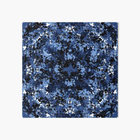 Random Blue Pattern Art Board Print