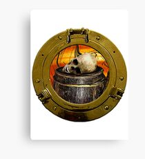 Piracy At Rest Canvas Print