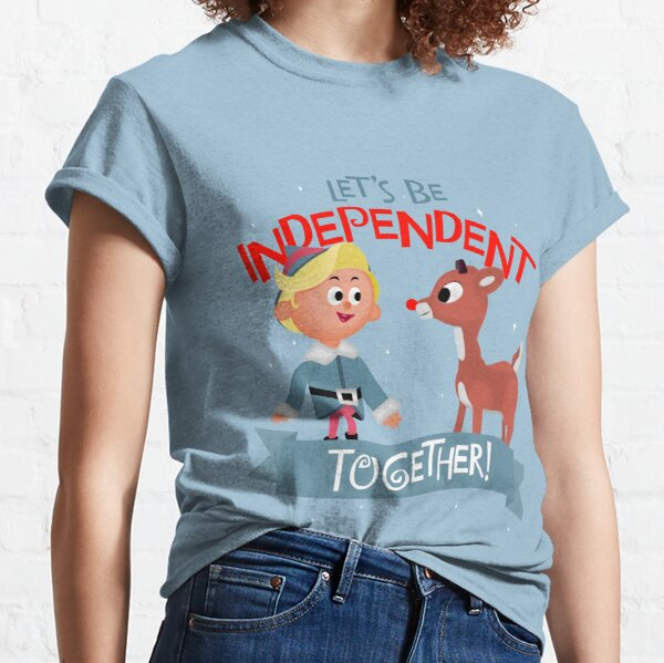 Independent Together - Hermey and Rudolph Classic T-Shirt