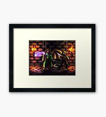 Dungeons Framed Print
