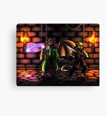 Dungeons Canvas Print