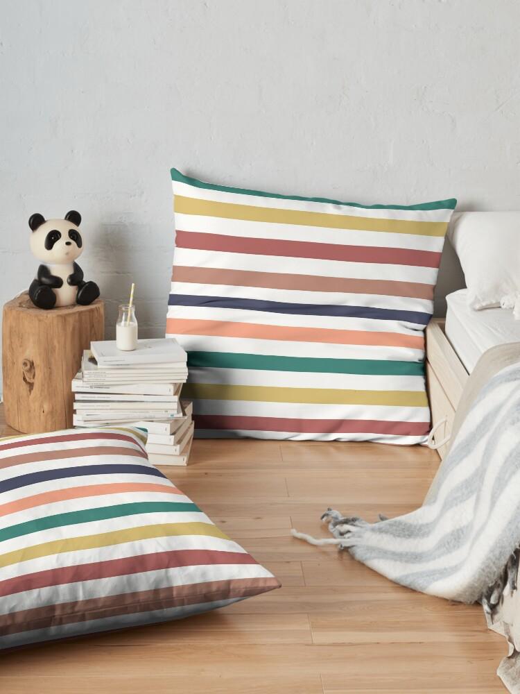 Alternate view of Lit Lines Floor Pillow